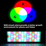Sistema de iluminación LED Plant grow light aquarium water plant fish tank Multi color Plant lights Lámpara...