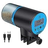 Focuspet Comedero de Peces Automáticos,Batería de Litio de Gran Capacidad Alimentador de Tiempo para...