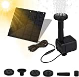 Fuente Solar Bomba, Bomba de Agua Solar, Fuente Solar con Panel Solar, Bomba Flotante, Fuentes Solares para...