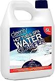 Cleenly - Clarificador de agua para bañera de hidromasaje y spa, 5 litros, transforma el agua nublada y de...