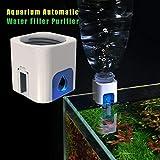 flower205 Purificador De Agua Automático para Acuarios Hidratador Automático De Agua para Acuarios Adecuado...