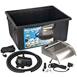 Ubbink Nevada - Juego de accesorios para el agua (talla L), color negro