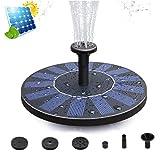 Upworld Bomba de Fuente Solar, 2020 Nuevas Fuente Solar Flotantes Bomba de Agua Solar Fuente Jardín (con 4...