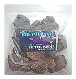 BIO VOLCANIC 500 g – Filtro biológico natural para acuario y decoración de roca de lava para tanque de...