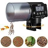 Petacc Alimentador Automático Acuario Multifuncional Comedero Peces Automático con Pantalla LCD y el Tiempo...
