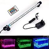 MLJ Acuario LED Iluminación, Iluminación LED para Acuarios Plantados Lámpara LED para Peceras Resistente al...