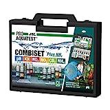 JBL ProAquaTest Combi Set Plus NH4 - Maletín con 6 Pruebas y Accesorios, para acuarios de Agua Dulce, Recarga