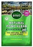 Envii Natural Pond Klear – Limpiador Natural Estanques Elimina Agua Verde y Tratamiento para Limpiar Algas...