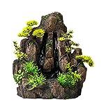 Aqua Della bidireccional Forrest Rock Acuario Cascada