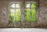 YongFoto 3x2m Vinilo Fondo de fotografía Planta Industrial arruinada Vieja abandonada Telón de Fondo de...