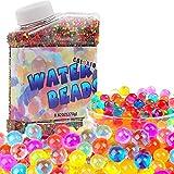 ONET Bolas de Gel de Agua, 50 000pcs Bolas de Gel, Perlas de Agua para Decoración, Hidrogel Bolas para...