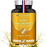 Colágeno Marino y Acido Hialurónico Puro | Con Vitamina A y Vitamina C | Hidratación Piel Antiedad...