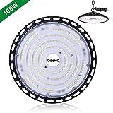 100W UFO LED Lámpara Alta Bahía, bapro Delgada Lámpara Industrial 10000LM, IP65 Industrial LED Iluminación...
