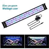 JOYHILL Luz LED Acuario, Pantalla LED Acuario, Iluminación LED para Acuarios Plantados Lámpara LED para...