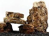 TM Aquatix Acuario Piedra fosilazizada Madera Estilo IWAGUMI Juego de Piedras acuascaping Natural