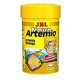 JBL Complemento alimenticio NovoArtemio, para Todos los Peces de acuarios, Compuesto de cangrejos de Artemia...