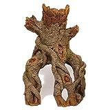 Rosewood Decoración de Acuario, Centro de Madera de Palisandro, Juego de Tronco y raíces