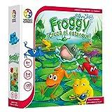 Froggy ¡Cruza el Estanque! – Smart Games, Juego Educativo multijugador para niños, Juegos de Mesa, Jugar...