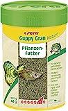 Sera Guppy Gran Alimento de Plantas o pienso Vegetal para Peces, granulado Blando de Lento hundimiento para...