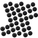 POPETPOP Bolas de Filtro de Acuario Bio Balls de Acuario de 50 Piezas Bio-Bolas para Limpieza de filtración...