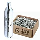 BORNER - Bombonas de CO2 de Alto Rendimiento | Capsulas de Aire comprimido con Cargas de 12 gr para Armas de...