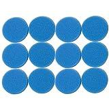 Sin marca Estera de Esponja de Filtro Media Gruesa Azul Adecuada para Eheim Classic 2217/600 2616171