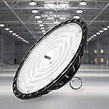 100W UFO LED Lámpara Alta Bahía, bapro Delgada 10000LM Lámpara Industrial, IP65 Focos Led Interior Techo...