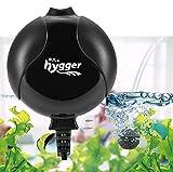 Hygger Bomba Aire Acuario Silencio Tranquilo Bomba Oxigeno de Aire Bomba de Oxígeno para Acuarios de hasta...