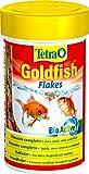 Tetra Goldfish Flakes - Alimento para todos los peces dorados y otros peces de agua fría, 100 ml