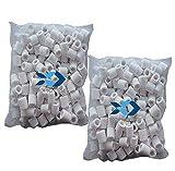 Anillos de filtro de cerámica de Tropical-Reef, filtro biológico para acuarios y peceras, 1 kg en bolsas