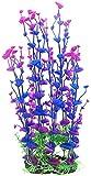 SSN Decoración para Acuario Plantas De Plástico Adorno para Acuario Púrpura Simular Plantas Decoración del...