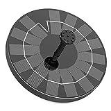 Fuente Solar para Estanque, AISITIN 3.5W Bomba de Agua Solar, Solar Fuente con 6 Estilos, para Estanque de...