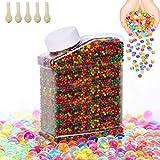 OFUN 55000 Piezas Bolas de Gel de Agua, Perlas de Gel para jarrones, Decoración, Plantas, Flores, Regalos de...