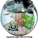 Kuty LED Acuario, Aireador Acuario, iluminación Acuario, Luz LED Acuario - Nueva versión Luz Acuario, Luz...