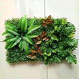 WYGG-Decoración de muebles Muro de fondo - Artificial Muro de la planta verde Muro de la planta Frontal de la...