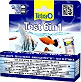Tetra Test 6in1- Prueba de agua para controlar los seis valores más importantes del agua en un solo paso,...