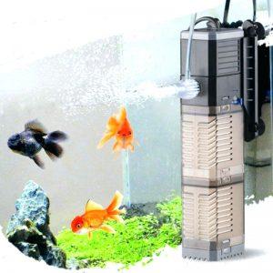 Filtros de acuario por tamaño